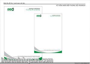 In giấy tiêu đề Letter Head chất lượng cao nhanh chóng giá cạnh tranh tại TP.HCM 2014