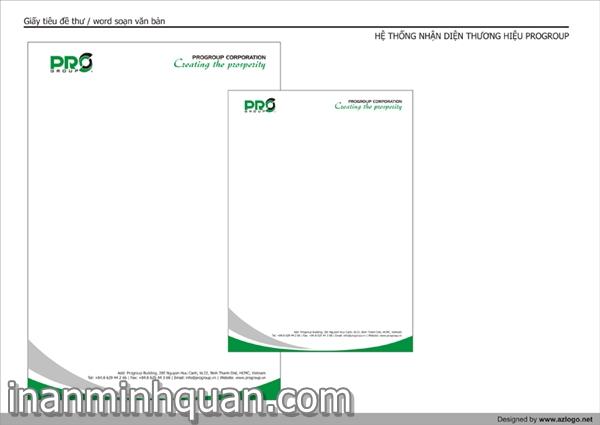 In giấy tiêu đề Letter Head chất lượng cao nhanh chóng giá cạnh tranh tại TP.HCM 2014 phần 1