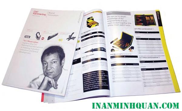 In Catalogue cùng với những vấn đề cần quan tâm để có được một sản phẩm chất lượng phần 1