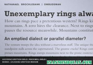 Tìm hiểu những cách kết hợp kiểu chữ tốt hiệu quả nhất dành cho thiết kế viên phần 3