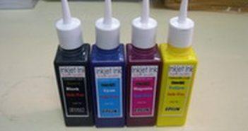 Giới thiệu các loại mực thông dụng dành cho máy in phun màu hiện nay