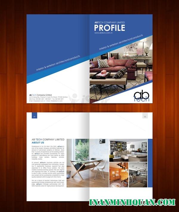 Kinh nghiệm để thiết kế Profile chuyên nghiệp thật hiệu quả mà rất đơn giản dành cho công ty phần 1